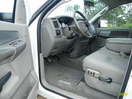 khaki interior 2007 dodge ram 3500 big horn quad cab dually photo