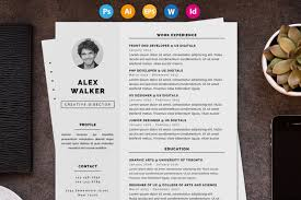 20 business resume template word psd eps and ai format
