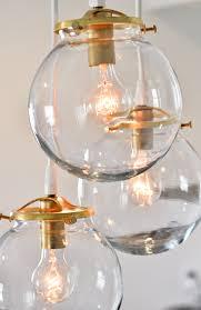 glass chandelier amazing glass ball chandelier bubble chandelier