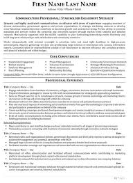 engagement resume sample u0026 template