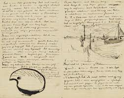 letter to theo van gogh with letter sketches van gogh u0027s palette
