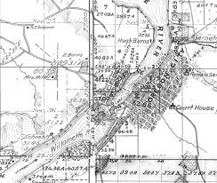 Oregon City Map by People Above The Falls Canemah Village U2013 Ndnhistoryresearch