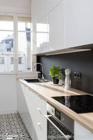 cuisine blanche ikea cuisine ikea blanche et bois gallery of idud cuisine gris et blanc