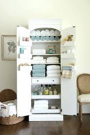 Office Wall Organizer Wire Basket Storage Bins Tall Kitchen Cabinet Food Linen Pantry