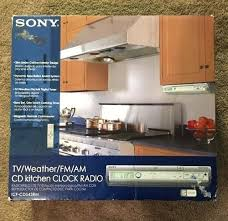 kitchen clock radio under cabinet under cabinet kitchen radio under cabinet kitchen clock radio b h