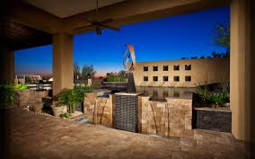 Desert Landscape Designs by Blooming Desert Custom Arizona Pools And Landscapes