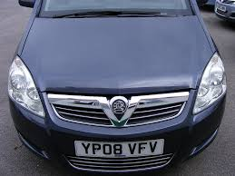 zafira b facelift headlight headlamp vauxhall zafira owners