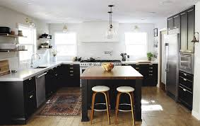 Kitchen Ideas Kitchen Eye Catching Modern Home With Black And White Kitchen