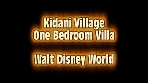 kidani village 1 bedroom villa tour animal kingdom lodge youtube