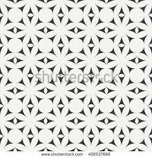 moroccan wrapping paper geometric line monochrome lattice seamless arabic stock vector