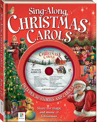 sing along carols book and cd picture books picture