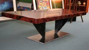 Redwood Coffee Table Crafted Growth Redwood Coffee Table By Symmetree Design