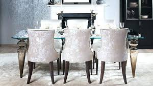 Upholstered Dining Room Chairs With Arms Cushioned Dining Room Chairs Dining Room Designs With Upholstered