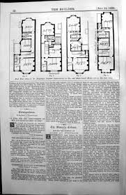 100 old victorian floor plans 69 victorian house