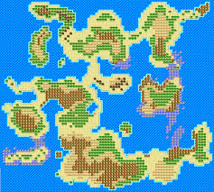 Oasis Map Dragon Warrior Monsters 2 Overworld Maps Realm Of Darkness Net