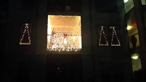 Patio Christmas Lights by 2012 Christmas Decorations Patio Contest Youtube
