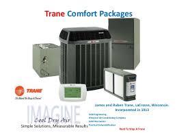 Trane Comfort Solutions Imagine Hvac Customer Options