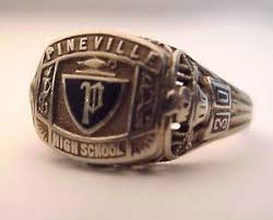 highschool class rings 1930 pineville high school 10k class ring filigree style ebay