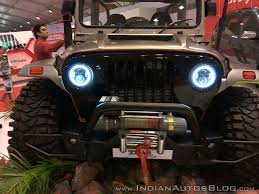 mahindra thar mahindra thar daybreak edition front close view at autocar