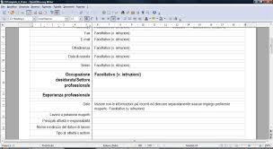 curriculum vitae formato europeo pdf da compilare online come scrivere curriculum vitae europeo modello studentlifeguide