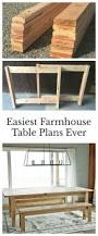 Farm Table Woodworking Plans by Best 20 Farmhouse Table Ideas On Pinterest Diy Farmhouse Table