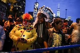 and parades pictured across america as revellers celebrate