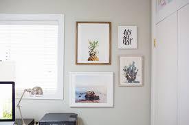 styling a gallery wall of art prints diana elizabeth
