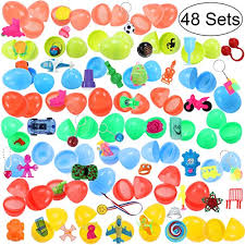 easter eggs surprises ibasetoy 48 filled easter eggs with 48 different toys 2 6