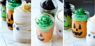 halloween mason jar mini cakes life made simple