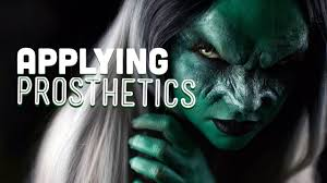 halloween prosthetics how to apply special effects prosthetics youtube