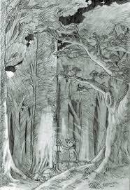 deep dark forest by weaving worlds on deviantart
