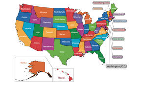 united states map with states names and capitals usa state maps with state names and capitals my