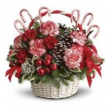 White Christmas Centerpieces - white christmas centerpiece vancouver florist