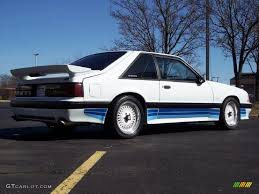 1988 saleen mustang 1988 oxford white ford mustang saleen hatchback 27113512 photo