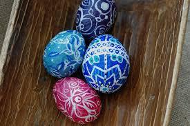 Decorated Paper 15 Diy Paper Mache Eggs Guide Patterns