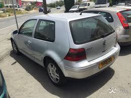 volkswagen golf 2001 hatchback 1 9l diesel manual cyprus bazar