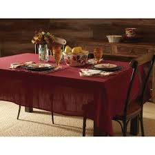 Dining Room Tablecloths by White Polyester Poplin Tablecloth 48 X 48 Walmart Com