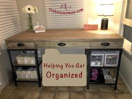 Desk Organized by Organizing Archives The Busy Woman