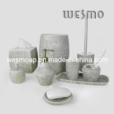 Porcelain Bathroom Accessories Sets China Porcelain Bath Accessories Set Wbc0581b China Bathroom