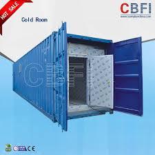 porte coulissante chambre froide chambre froide de panneaux de couleur de conteneur en acier de