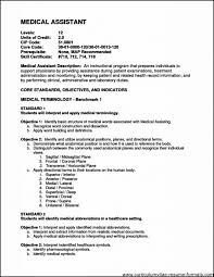 Medical Office Assistant Job Description For Resume by Medical Office Assistant Resume Objective Free Samples