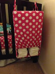 Mini Crib Sheet Tutorial by Diy Diaper Holder Out Of Crib Sheet And Diaper Box I Couldn U0027t
