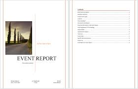 post event report template event report template microsoft word templates
