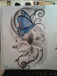 and butterfly by tattoosteve uk on deviantart