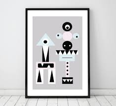 Modern Wall Art Kids Print Nursery Poster Nursery Wall Art Nursery Wall Decor