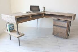 Desk Shapes Desk Design Ideas Stuart Reclaimed Corner Desk Scaffolding Board