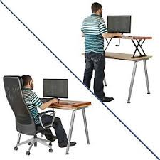 Sit To Stand Desk Halter Manual Adjustable Height Table Top Sit Stand Desk Or