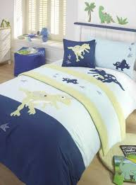 Dinosaur Bed Frame Boys Bedroom With Metal Bed Frame And Wainscoting Also Dinosaur