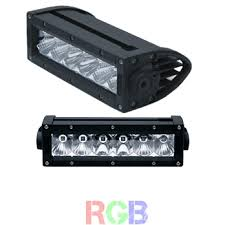 6 inch light bar sounds ws s6 rgb 6 inch single row rgb led light bar