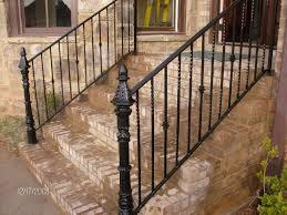 vintage wrought iron porch railings